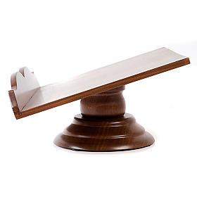 Estante mesa madeira fixo ou rotativo s5