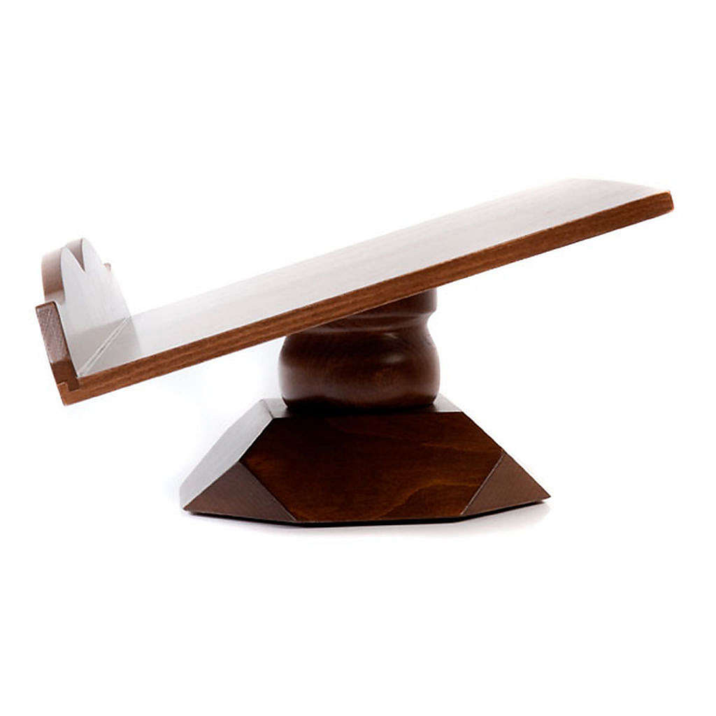 Wood book-stand- fixed and rotating 4