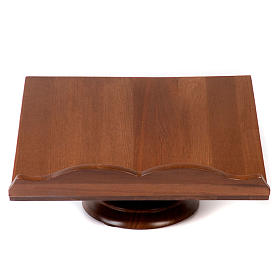 Wood book-stand- fixed and rotating s1