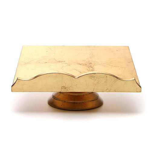 Leggio foglia dorata 1