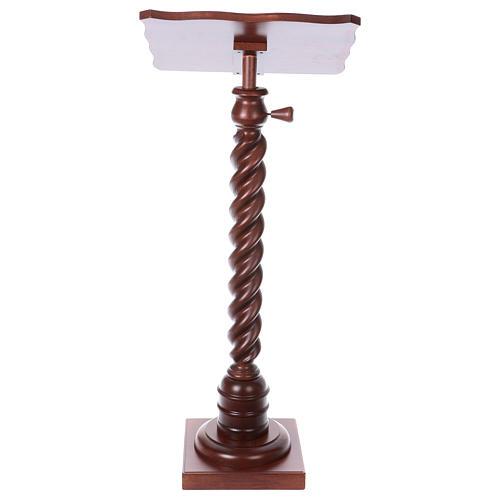 Pulpit stojący skręcony 4