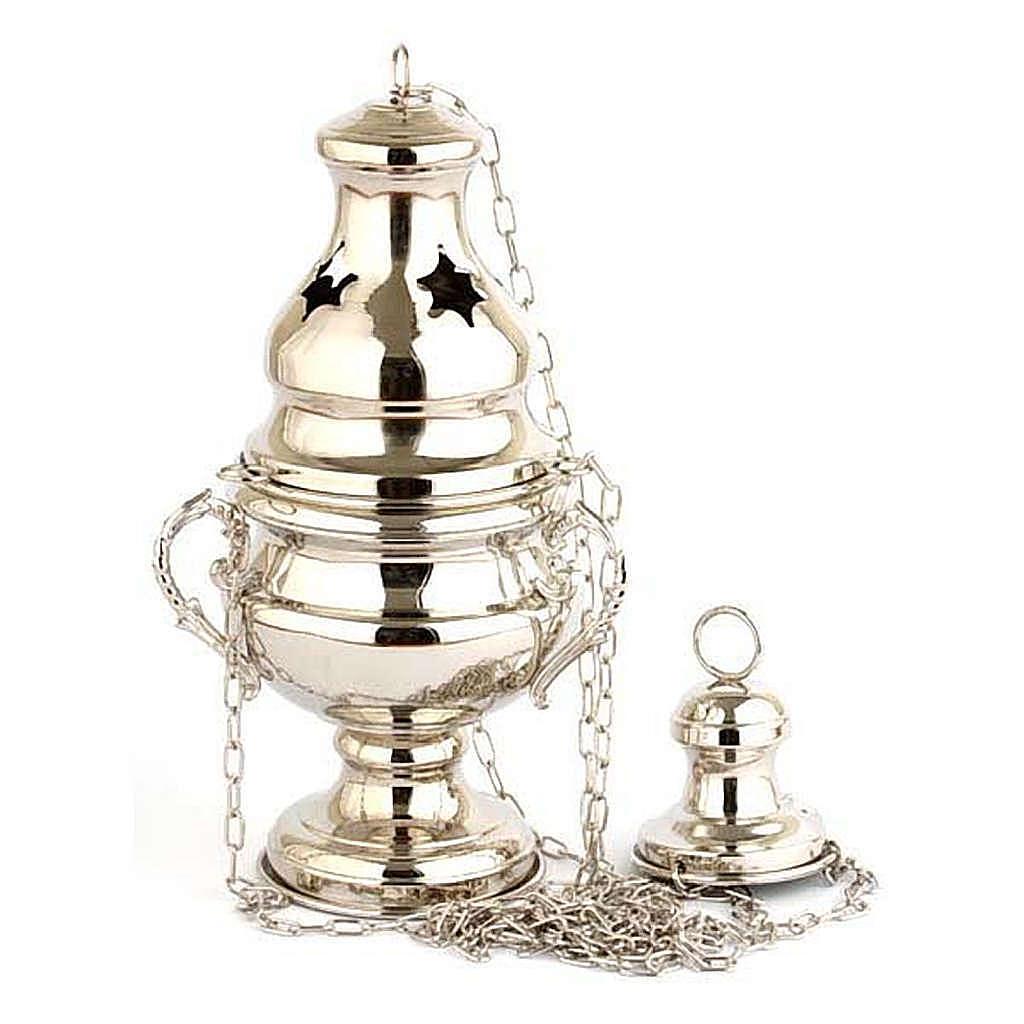 Encensoir style classique nickelé 3