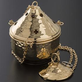 Embossed thurible for litugical use s5