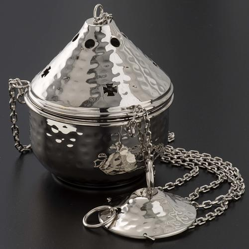 Embossed thurible for litugical use 2
