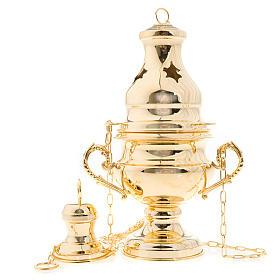 Encensoir style classique doré s1
