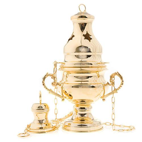 Encensoir style classique doré 1