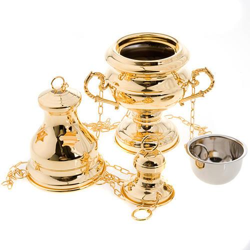 Encensoir style classique doré 2