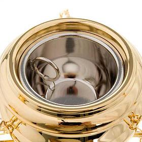 Turibolo stile classico dorato s3