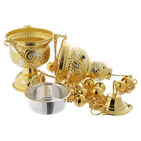 Encensoir style orthodoxe pierres dures s5