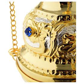 Encensoir style orthodoxe pierres dures s2