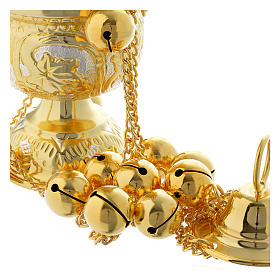 Encensoir style orthodoxe pierres dures s4
