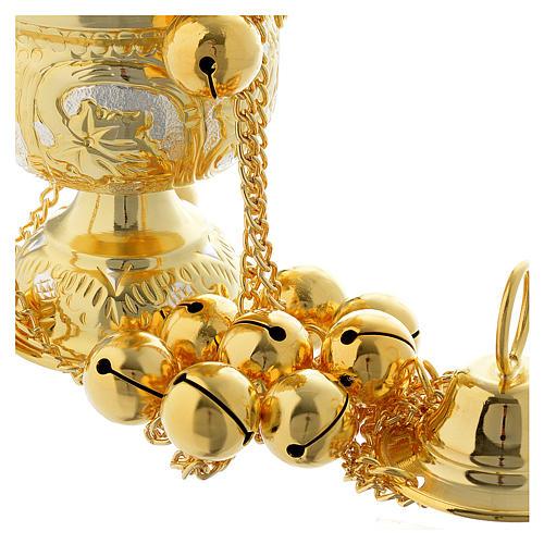 Encensoir style orthodoxe pierres dures 4