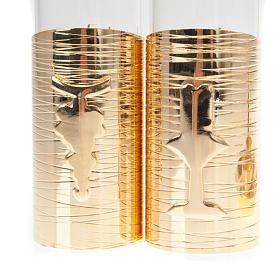 Gold plated watertight cruet set s3