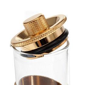 Gold plated watertight cruet set s4
