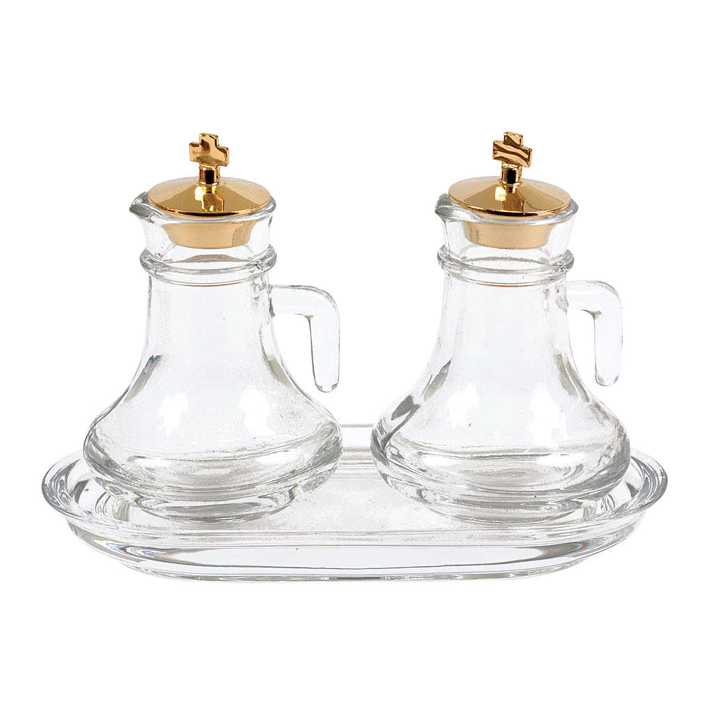 Glass cruet set for liturgy 4
