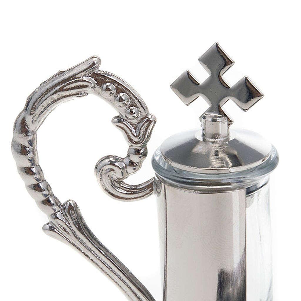 Nickel-plated pewter magnetic cruet set 4