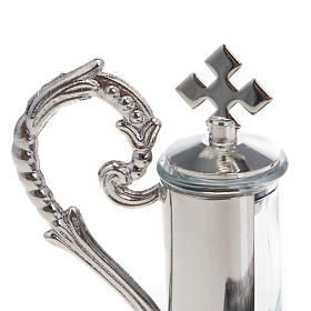 Nickel-plated pewter magnetic cruet set for mass s4
