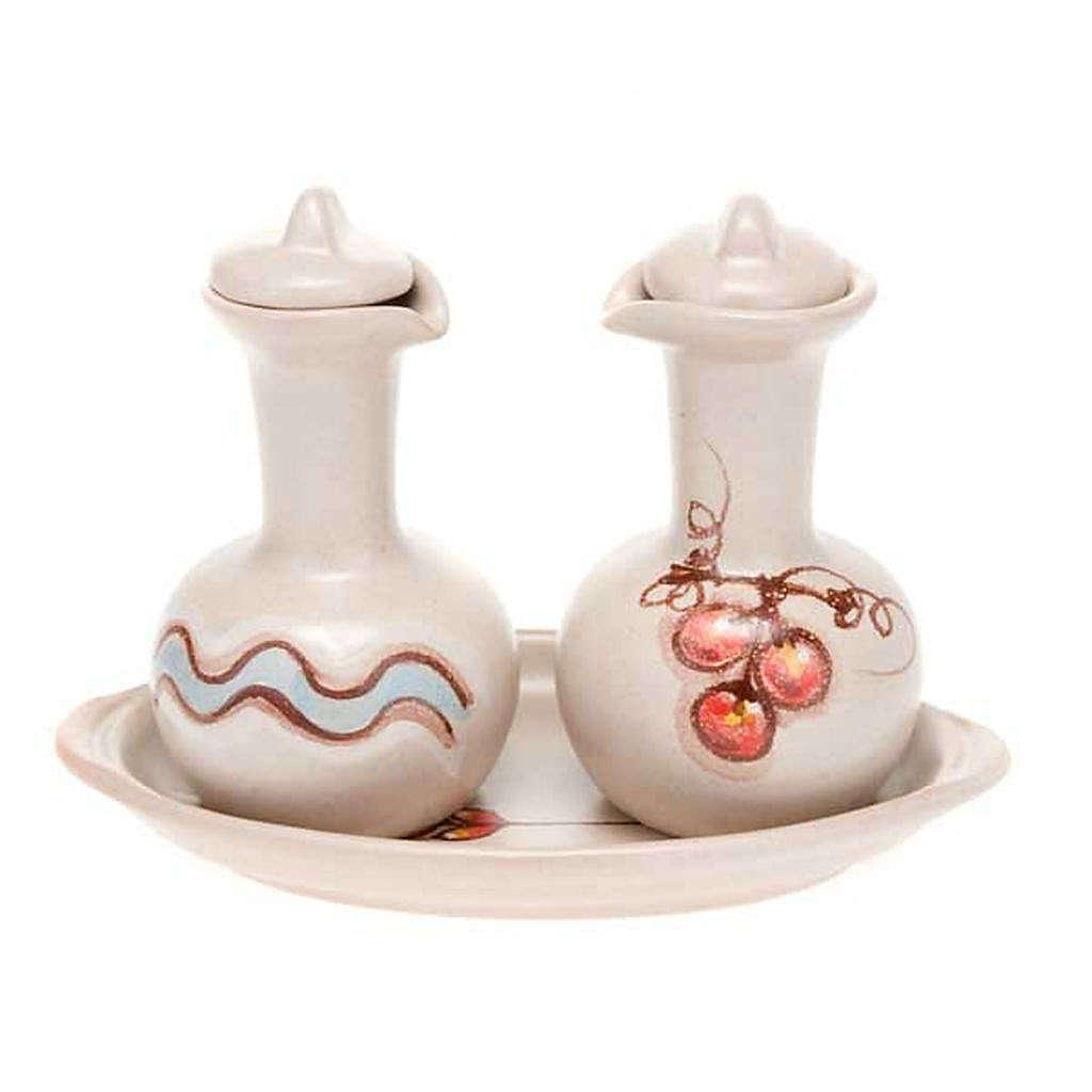 Ceramic cruet set 4