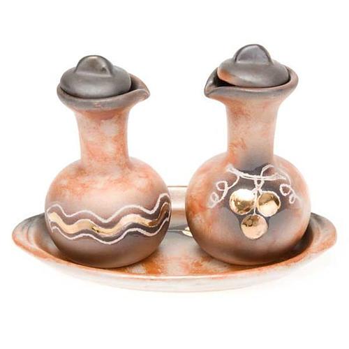 Ceramic cruet set 2