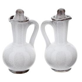 Ceramic round cruet set s14