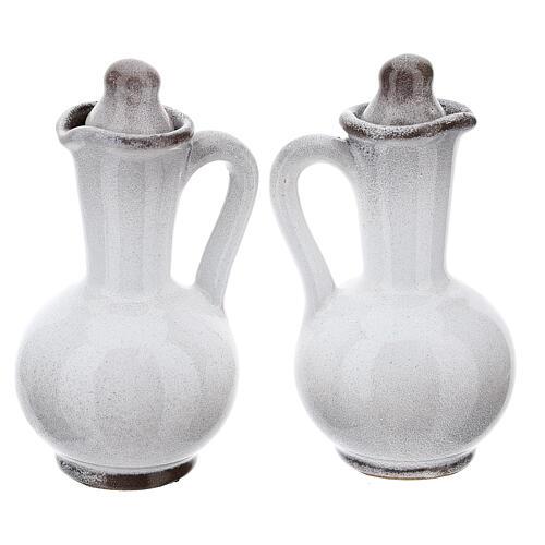 Ceramic round cruet set 14
