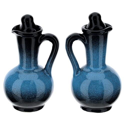 Ceramic round cruet set 15
