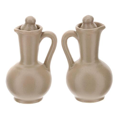 Ceramic round cruet set 16