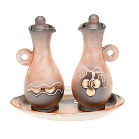 burettes, manche ronde en céramique s2