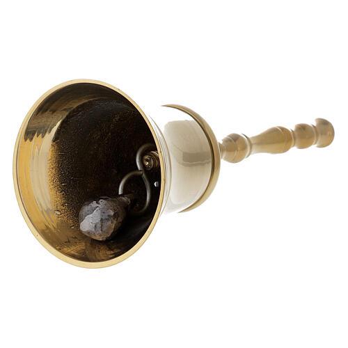 Dzwonek klasyczny z mosiądzu 2