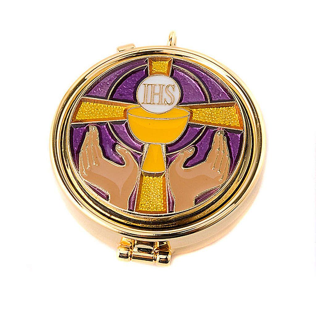 Custode pour eucharistie mains 3