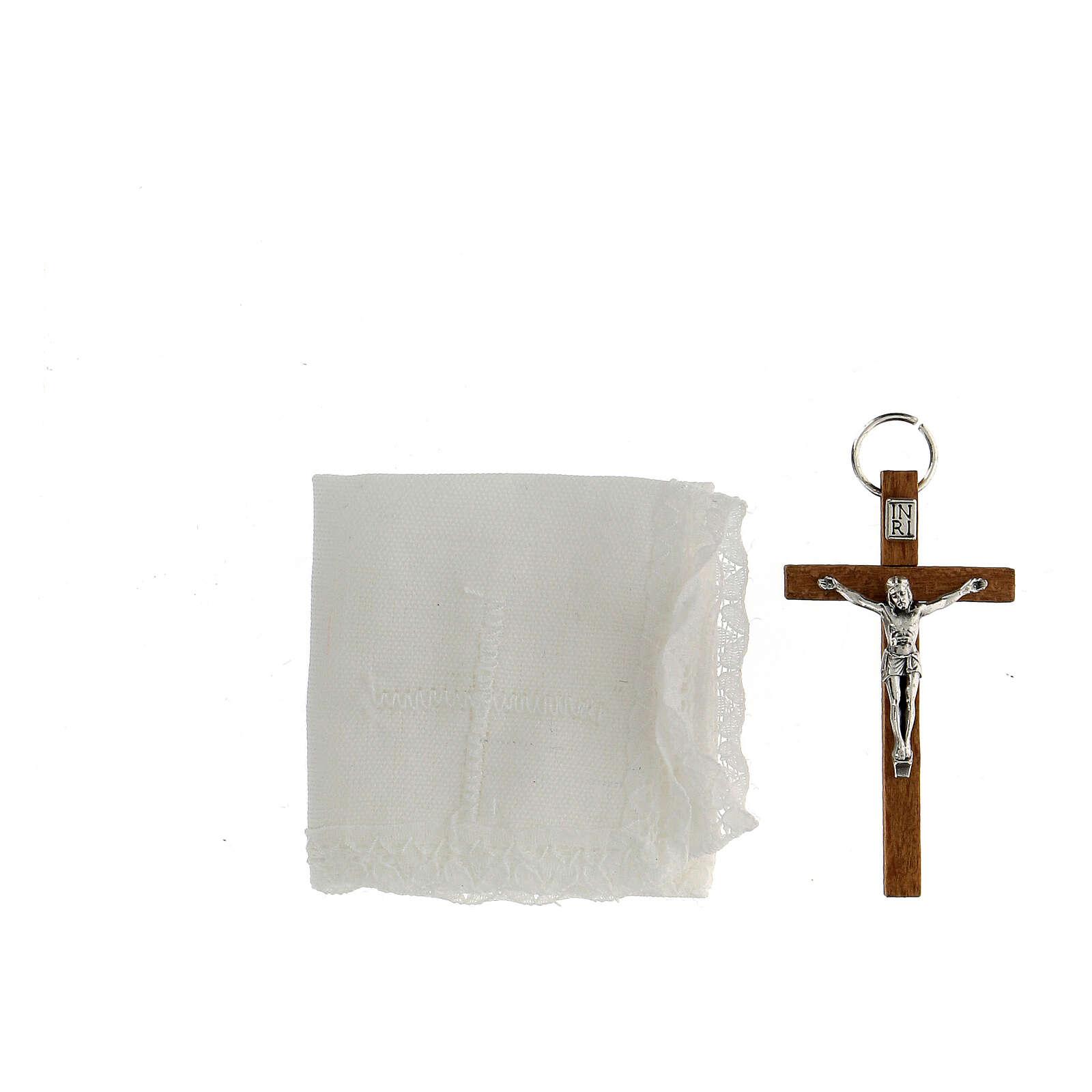 Portaviatico piel comunión y caja de formas 3