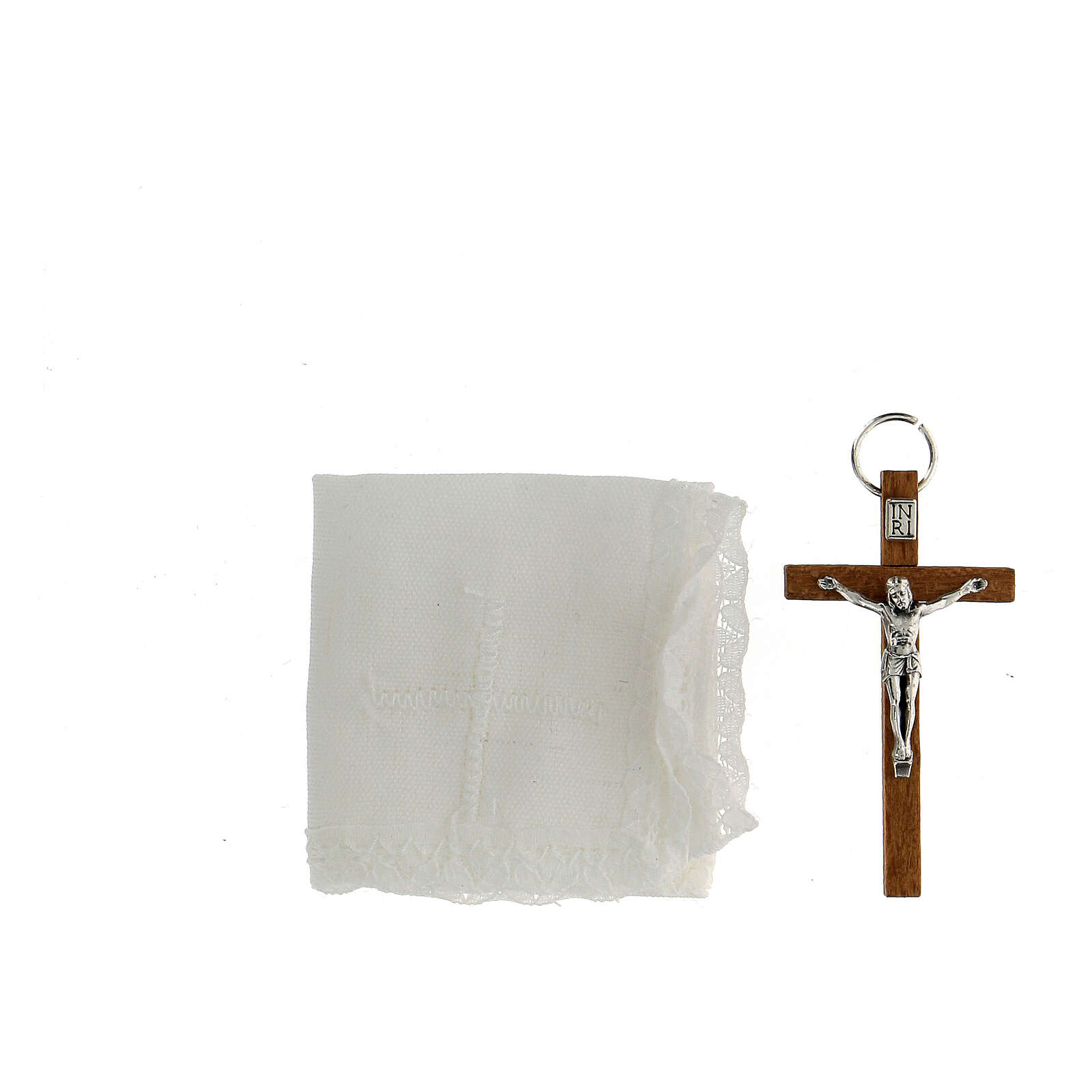 Custode en cuir avec son étui pour communion 3