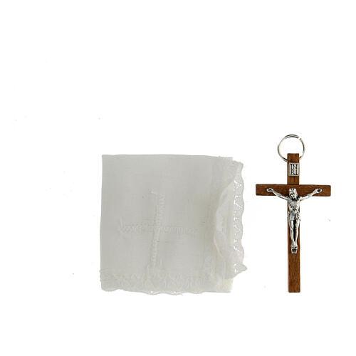 Custode en cuir avec son étui pour communion 6