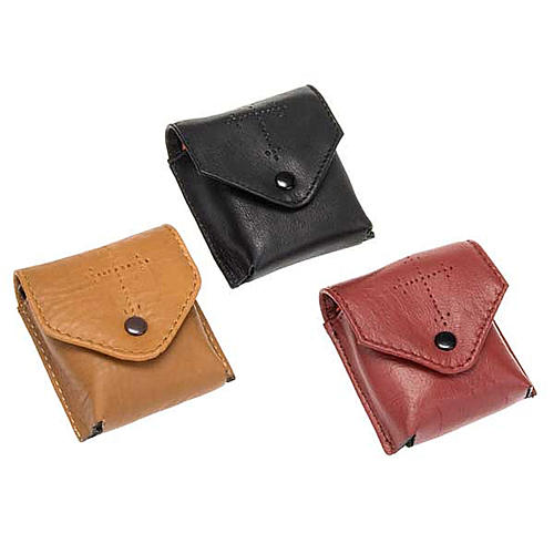 Leather Pyx case 1