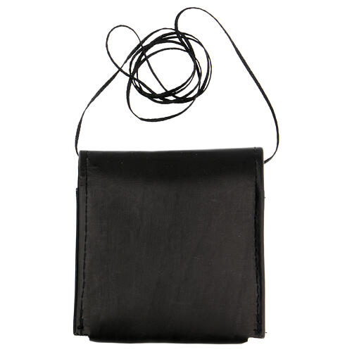 Black leather Pyx case 3