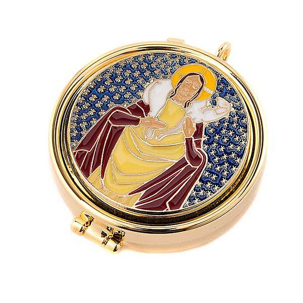 Teca eucaristica Buon Pastore 3