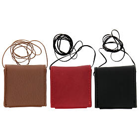 Brown leather Pyx holder s3