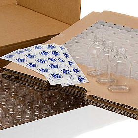 Paquete 100 botellas para agua bendita s7