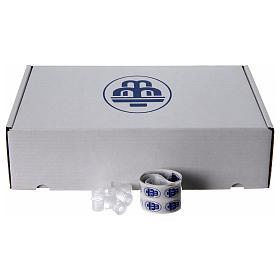 Embalagem 100 garrafinhas para água benta s2