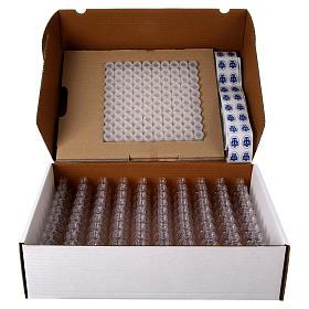 Embalagem 100 garrafinhas para água benta s3