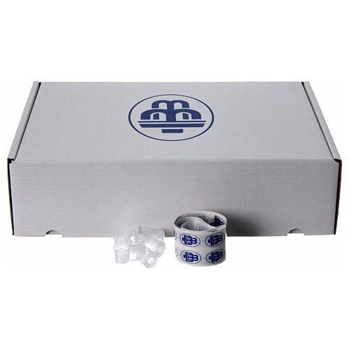 Embalagem 100 garrafinhas para água benta 2
