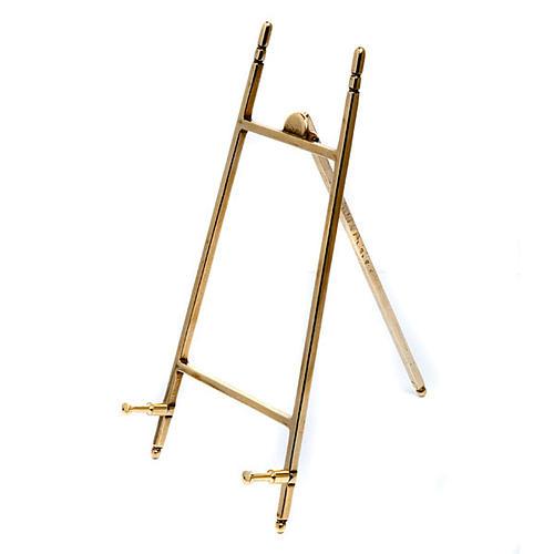 Mosiężna sztaluga (stojak) pod obraz 3