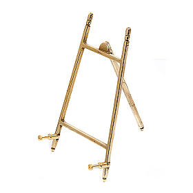Plain brass picture holder frame s2