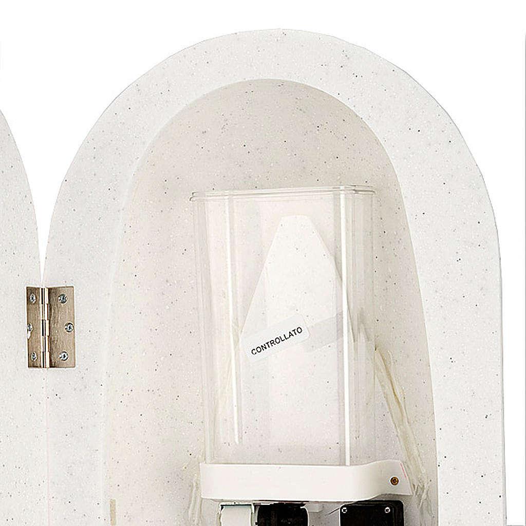 Bénitier en Hanex couleur blanc 4