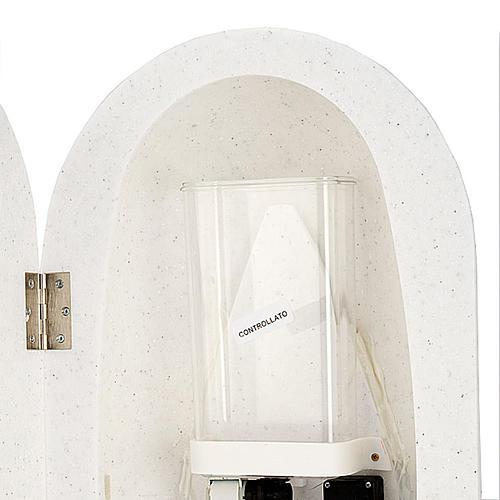 Bénitier en Hanex couleur blanc 5