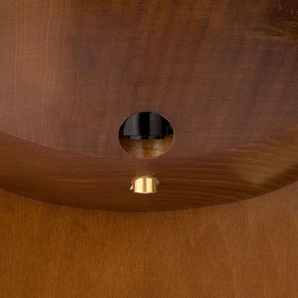 Bénitier en bois sans bassin 4