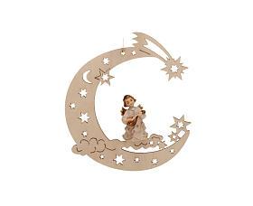 Musician angel, moon and stars s2