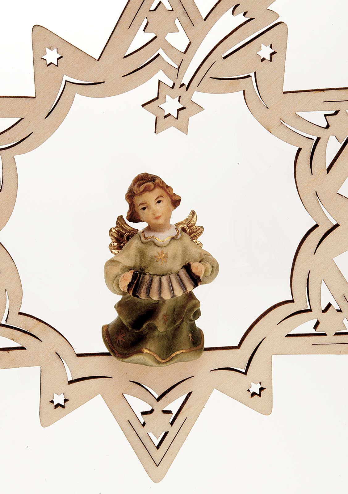 ange  musicien, étoile 4