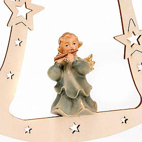 Musician Angel with Bell Christmas Tree Decoration s5