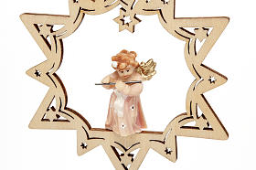 Angel on a Star Christmas Decoration s3